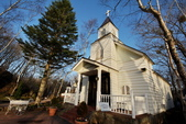 4/18輕井澤與台場:輕井澤近郊的白原教會