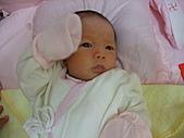 2010.10.01~10月14日 Dora 24天前點滴:10月02日 剛好取好名字的瓊憶.JPG
