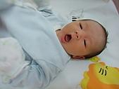2010.10.01~10月14日 Dora 24天前點滴:10月03日 非常舒服的瓊憶.JPG