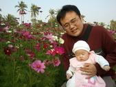 2011年Dora的人生第一個春節:0204Dora 與爸爸特寫.jpg