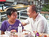 2010年9月26日 歡慶陳宥睿 滿月酒席:ㄚ威 & 他兒子 子舜.JPG