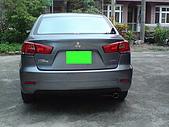 2009.10.01 結婚的第一部車 - Fortis:13-車尾.JPG