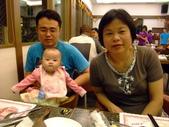 2011年0220到0420(Dora第五到7個月生活點滴:0416Dora 母親節晚餐1.JPG