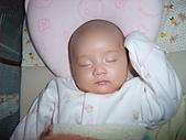 1020到1120 Dora  第二個月的成長點滴:1105 熟睡.JPG
