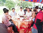 2010年9月26日 歡慶陳宥睿 滿月酒席:第二桌 老爸和鶴齡的長官.JPG