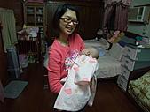 1120到1220 Dora第三個月生活照:1207Dora&鶴齡 合照.JPG