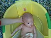 1120到1220 Dora第三個月生活照:1128 洗澡.jpg