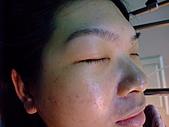2010年9月20 虎妞妞誕生記:12點 剛生產完 鶴齡眼角感動的淚水.jpg