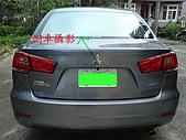 2009.10.01 結婚的第一部車 - Fortis:17-車尾+倒車攝影.JPG