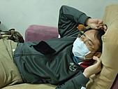 2010年9月20 虎妞妞誕生記:05點趕到醫院(趁空休息).JPG
