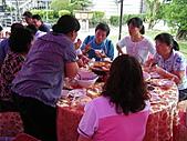 2010年9月26日 歡慶陳宥睿 滿月酒席:第八桌 後村的親朋好友.JPG
