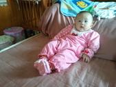 2011年0220到0420(Dora第五到7個月生活點滴:0319Dora 貴婦的睡姿.jpg