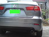 2009.10.01 結婚的第一部車 - Fortis:17-車尾+特寫.JPG