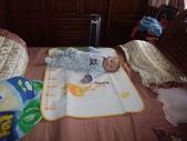 2011年Dora的人生第一個春節:0126Dora 剛睡醒.JPG