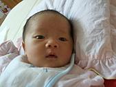 2010.10.01~10月14日 Dora 24天前點滴:10月12日 Dora張大眼睛.jpg