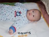 2011年Dora的人生第一個春節:0126Dora 睡意還很重.JPG