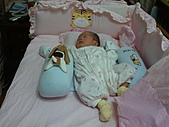 2010.10.01~10月14日 Dora 24天前點滴:10月12日 Dora睡姿第一套.jpg