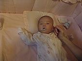 1020到1120 Dora  第二個月的成長點滴:1122 Dora被媽媽掏耳朵.JPG