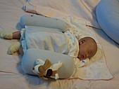 1020到1120 Dora  第二個月的成長點滴:1101 趴睡.jpg