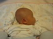 1020到1120 Dora  第二個月的成長點滴:1101 趴睡1.jpg