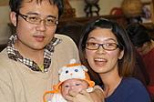 1221到2011年0120(Dora第四個月生活點滴:1225 Dora&可愛爸媽.JPG