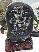 柯顯明畫家-石畫石說原石油墨點畫展990410:P2080543.JPG