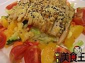 料理美食王----美味料理大公開96年7--9月:松阪豬肉沙拉0809