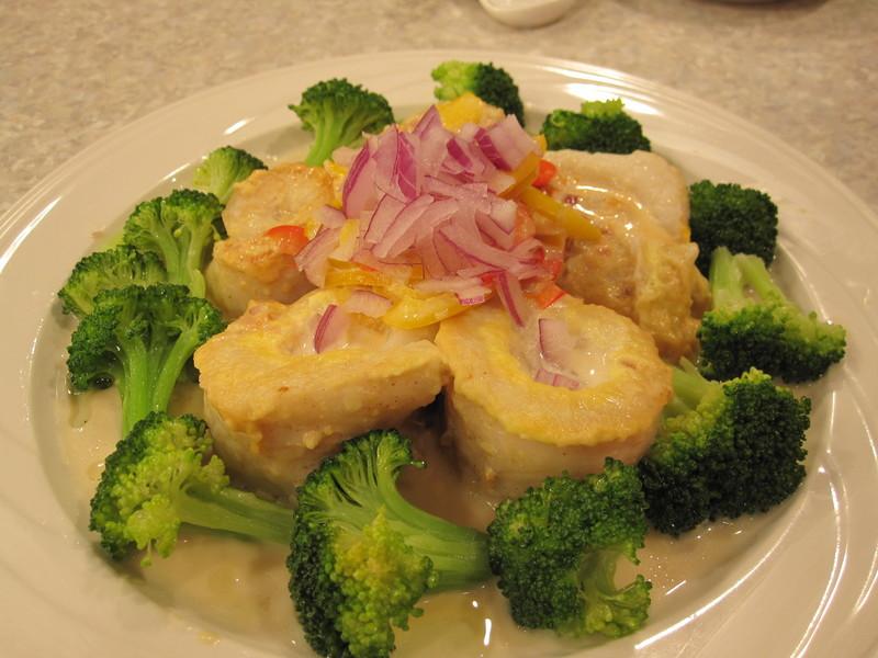 料理美食王-美味料理大公開98年7~9月:白醬雪斑魚捲