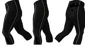 五分車褲 :Coolmax 3D 矽膠墊厚 2.3 cm.萊卡布料, 特價 450.- :七分車褲.Coolmax 矽膠墊厚 2.3公分. 550.-