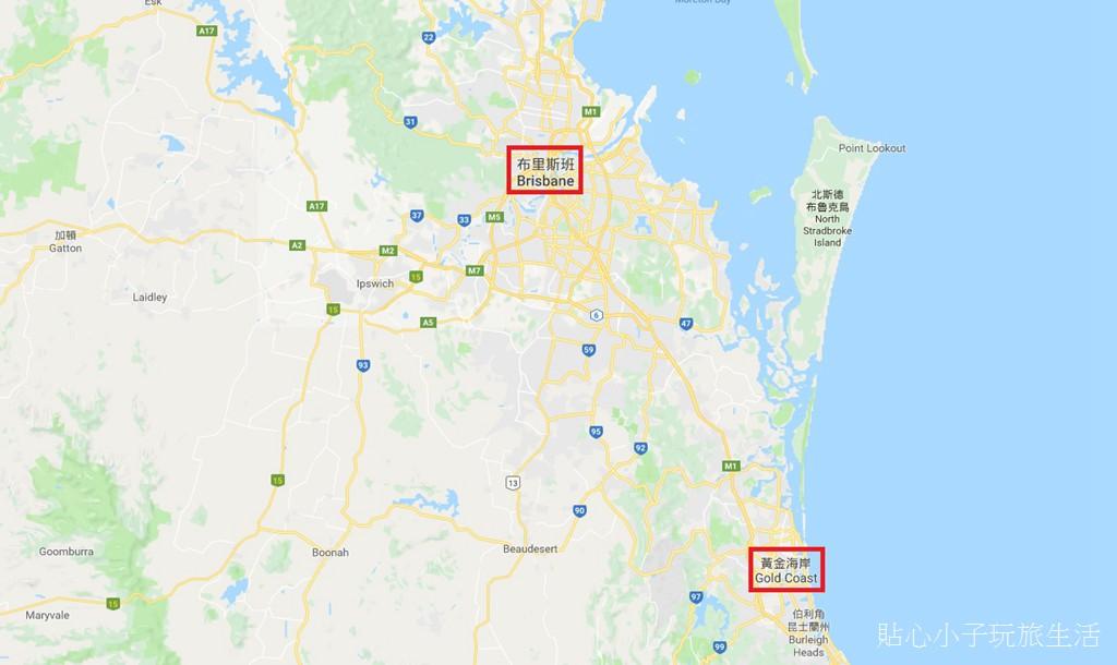 map.jpg - 澳洲布里斯本+黃金海岸