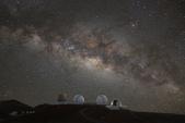 天文攝影:毛納基山天文台夕陽地景與遊客中心銀河
