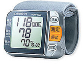 OMRON電子血壓計:OMRON手腕電子血壓計HEM-6000