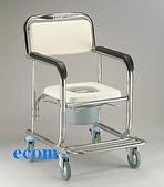 便器椅/洗澡椅/助行器:JCS-303 不銹鋼洗澡便器椅..豪華型