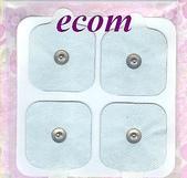 中頻機/低週波治療器/電療器:紐扣型貼片50X50