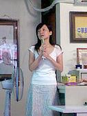 飛鷹人超級任務首次記者會 95-08-22:靜萍發表感言,講得很棒喔