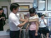 飛鷹人超級任務首次記者會 95-08-22:老師親手選的絲巾