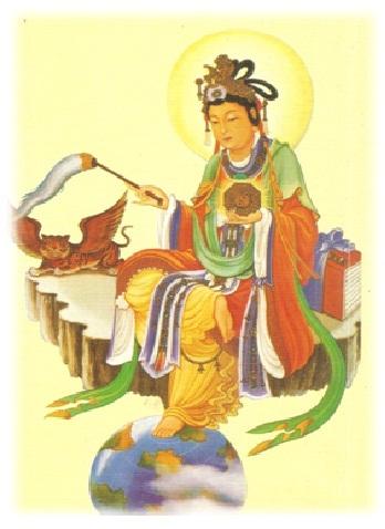 歸寧宮祀奉神明:地母至尊聖像2.jpg