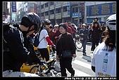 2008.3.01,大甲-新港128km萬人崇bike騎:現場人潮太多, 有點走散了