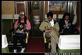 """2008.3.01,大甲-新港128km萬人崇bike騎:我們坐的, 好像是""""電聯車""""吧.."""