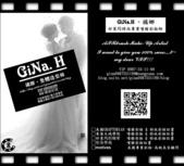 gina.h 橘娜の時尚個性美學。VIP電話:0987-55-11-99 MSN:gina0987551199@hotmail.com.tw:GiNa新娘郎圖名片