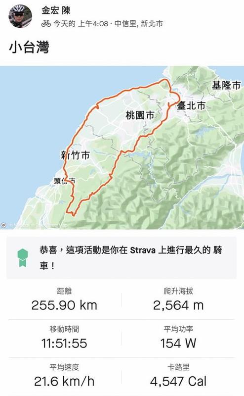44-金宏軌跡圖.jpg - 一日單車環島
