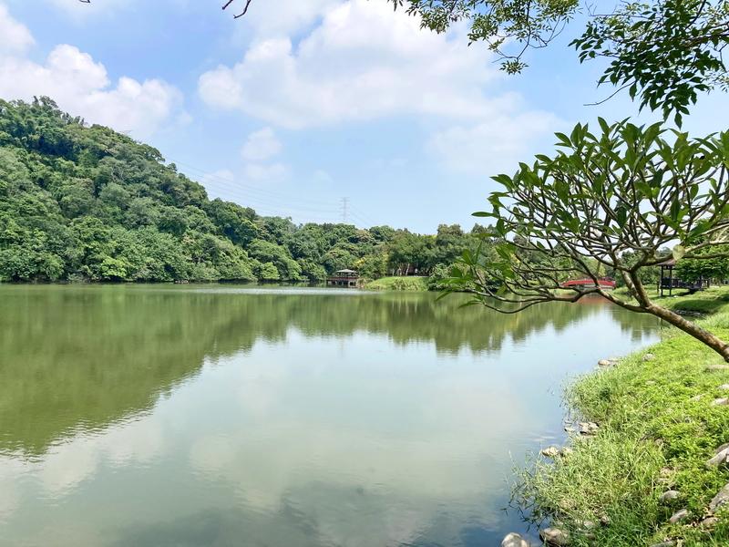 17-三坑生態公園.JPG - 三坑紅橋