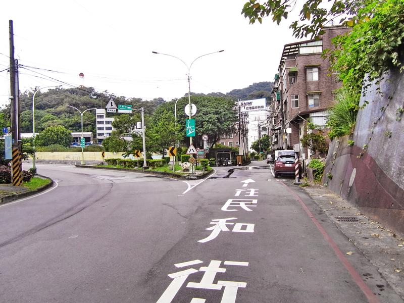 7-民和街叉路.JPG - 大凍山單騎