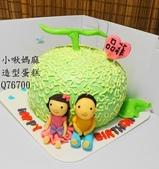 立體造型蛋糕(尚未分類):LQ76700哈密瓜蛋糕+哈密瓜造型蛋糕+小啾媽麻造型蛋糕+台中造型蛋糕+哈密瓜.jpg