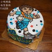 朵拉Dora:LV10208go diego go+go diego go蛋糕+小啾媽麻造型蛋糕+  台中造型蛋糕.jpg