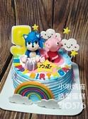 糖偶蛋糕(不分類):LT10576音速小子蛋糕+佩佩豬蛋糕+小啾媽麻造型蛋糕+台中造型蛋糕.jpg