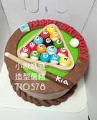 糖偶蛋糕(不分類):LT10578撞球蛋糕+撞球造型蛋糕+小啾媽麻造型蛋糕+台中造型蛋糕.jpg