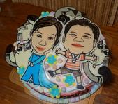 手繪人,狗,貓蛋糕:DSC07241.JPG