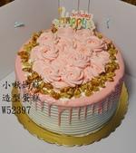 平面蛋糕(尚未分類):LW52397玫瑰花蛋糕+小啾媽麻造型蛋糕+台中造型蛋糕.jpg