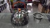 露營裝備:BRS不銹鋼野營茶壺/1.1L